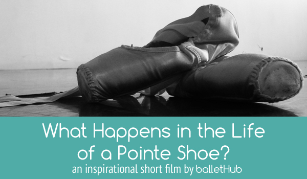 What Happens In The Life Of A Pointe Shoe Ballet Video